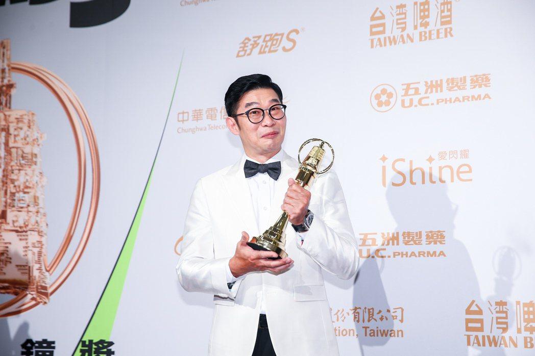 第55屆金鐘獎頒獎典禮在國父紀念館舉行,戲劇節目男配角獎由馬力歐以「國際橋牌社」