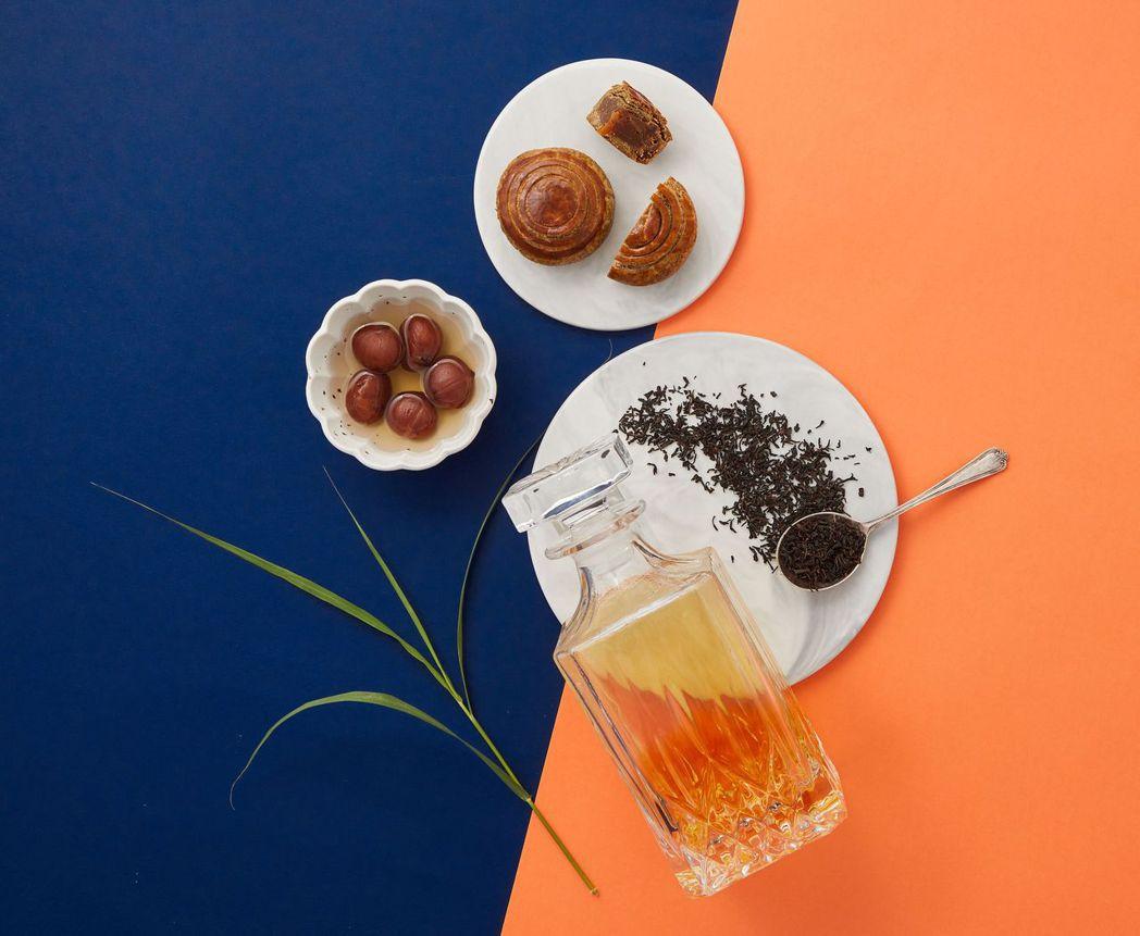 古典茶焦糖威士忌栗子。  帕莎蒂娜 提供