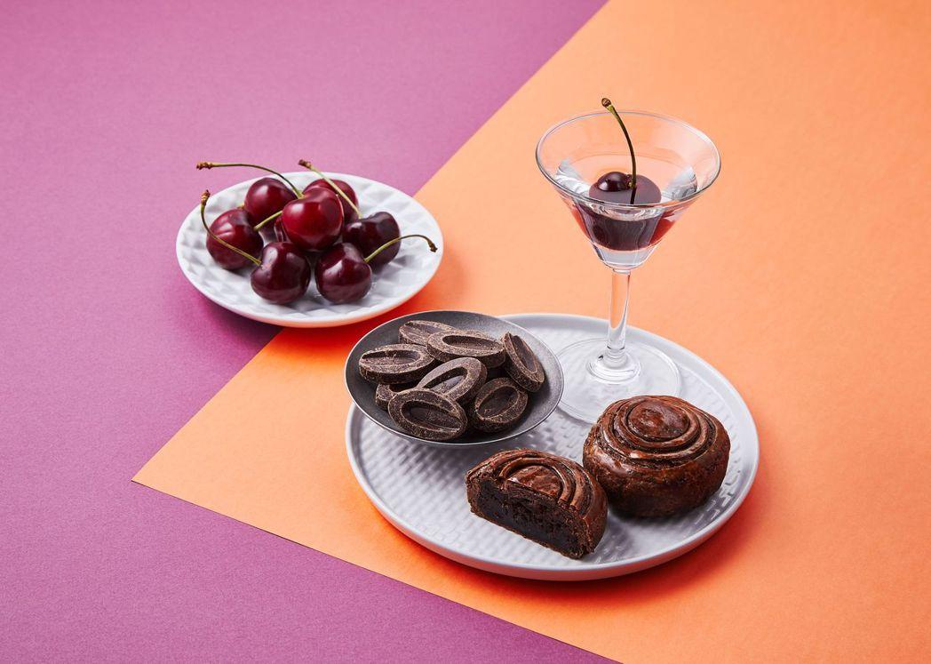 酒釀櫻桃巧克力。  帕莎蒂娜 提供