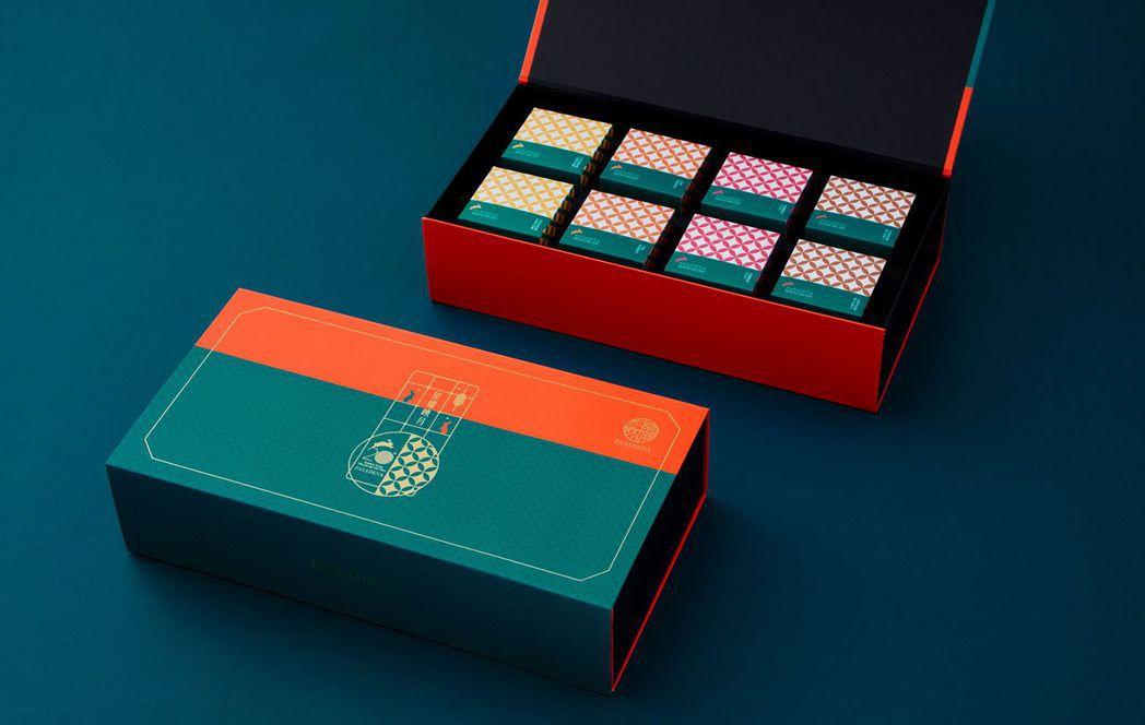 帕莎蒂娜中秋禮盒8入裝。  帕莎蒂娜 提供