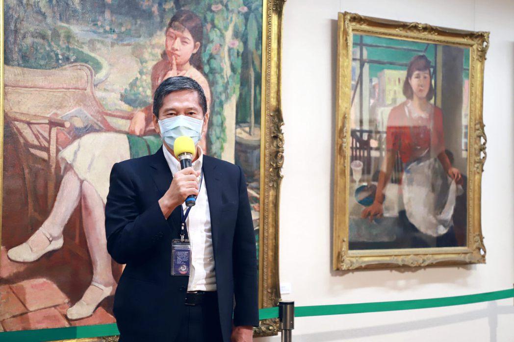 文化部長李永得致詞。