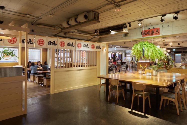 好燒的裝潢風格,展現著日式禪味。圖/Drip Cafe提供