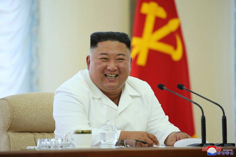北韓領導人金正恩。路透