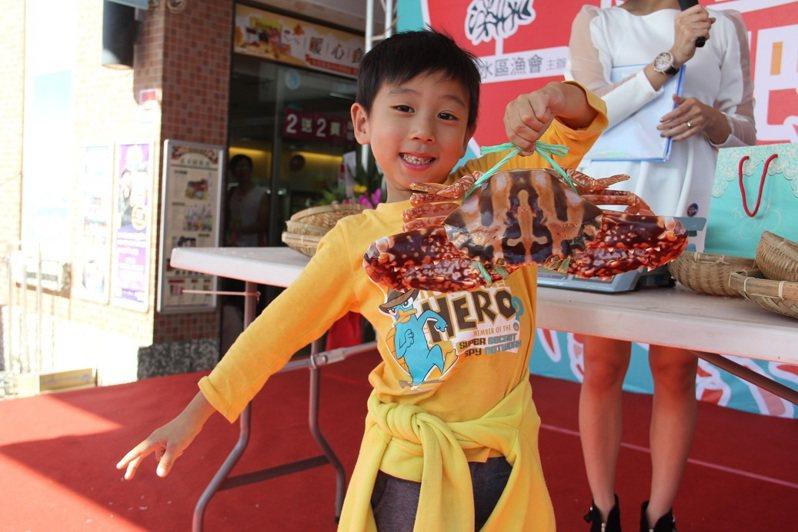 萬里蟹正盛產。圖/新北市漁管處提供