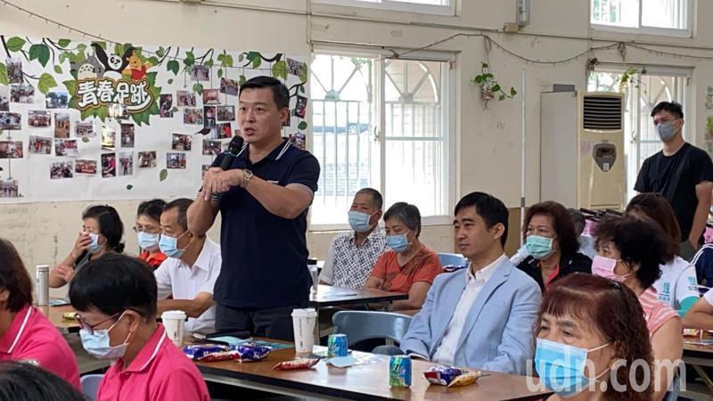 台中舉辦「萊豬不要來」食安把關社區座談會,吸引民眾參與。記者趙容萱/攝影