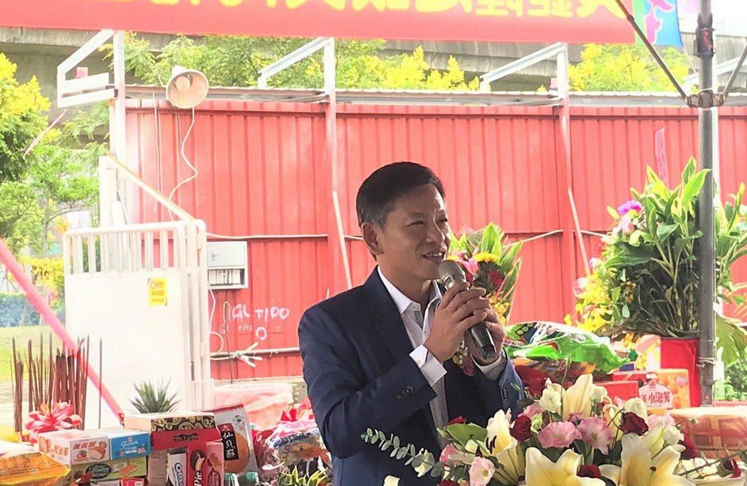 新潤建設機構董事長黃文辰。記者游智文/攝影