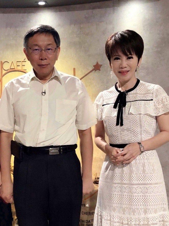 柯文哲接受陳雅琳訪問。圖/壹電視提供