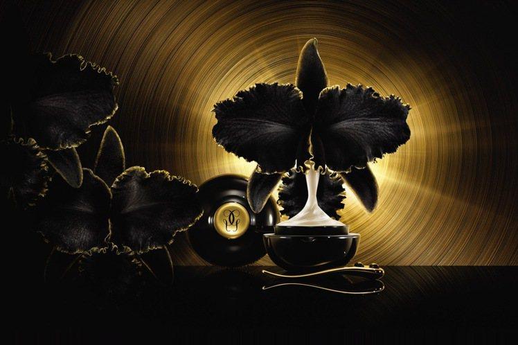嬌蘭黑蘭鑽極萃乳霜-金繕頂級工藝限量版/50ml/55,300元。圖/嬌蘭提供