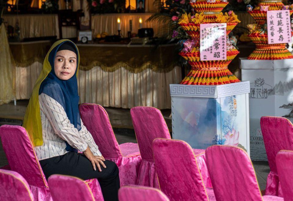 印尼演員陳莎莉在「入世」表現出色,獲得最具潛力新人獎入圍。圖/摘自faceboo...