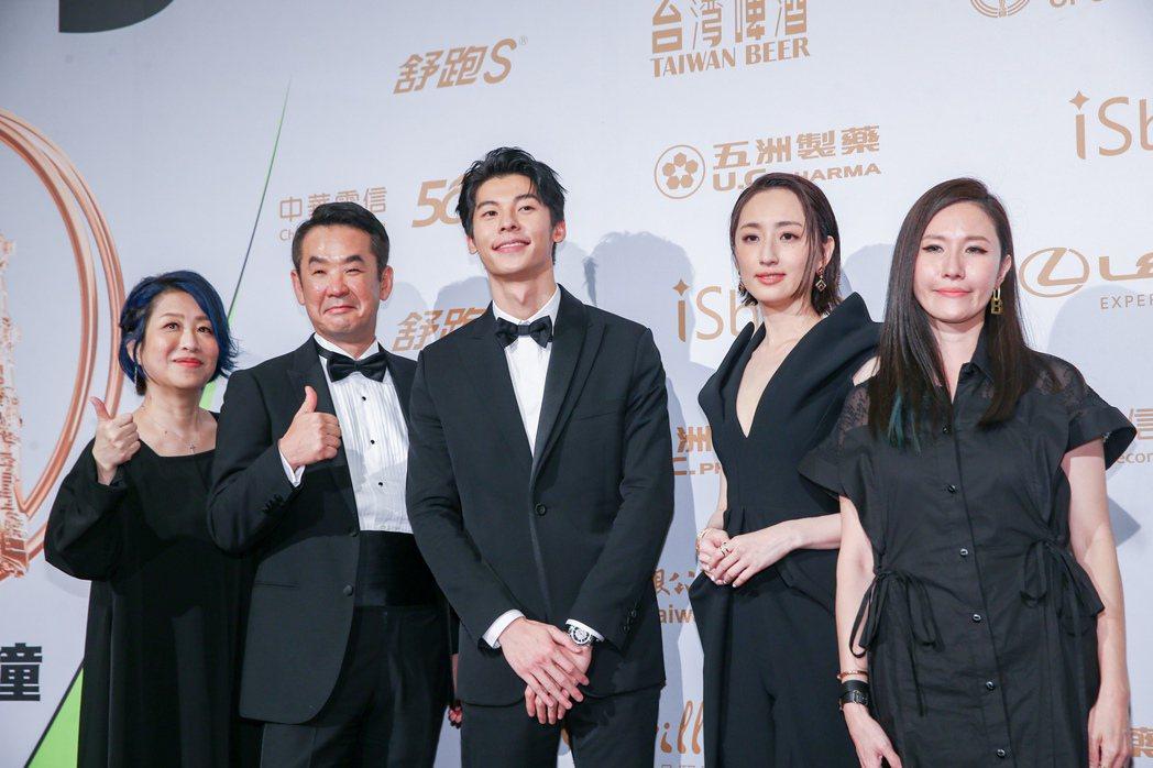 第55屆金鐘獎頒獎典禮在國父紀念館舉行,戲劇節目獎由「想見你」獲得。記者曾原信/