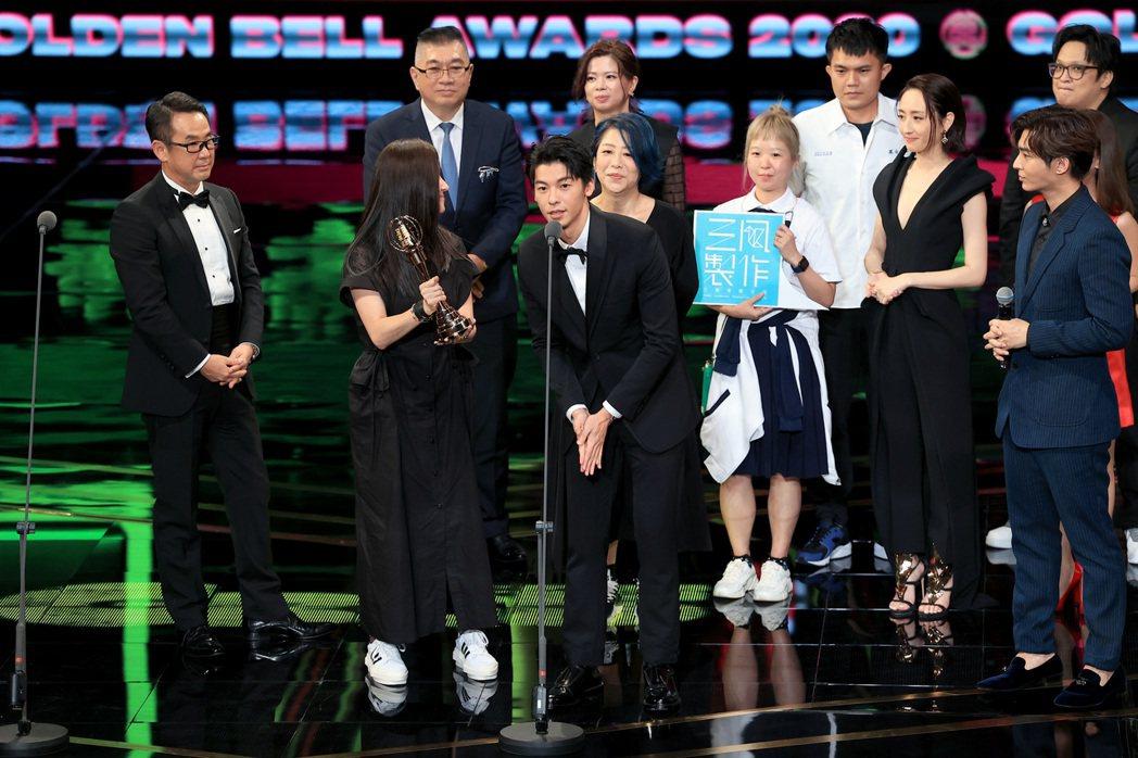第55屆金鐘獎頒獎典禮在國父紀念館舉行,戲劇節目獎由「想見你」獲得。記者林伯東/