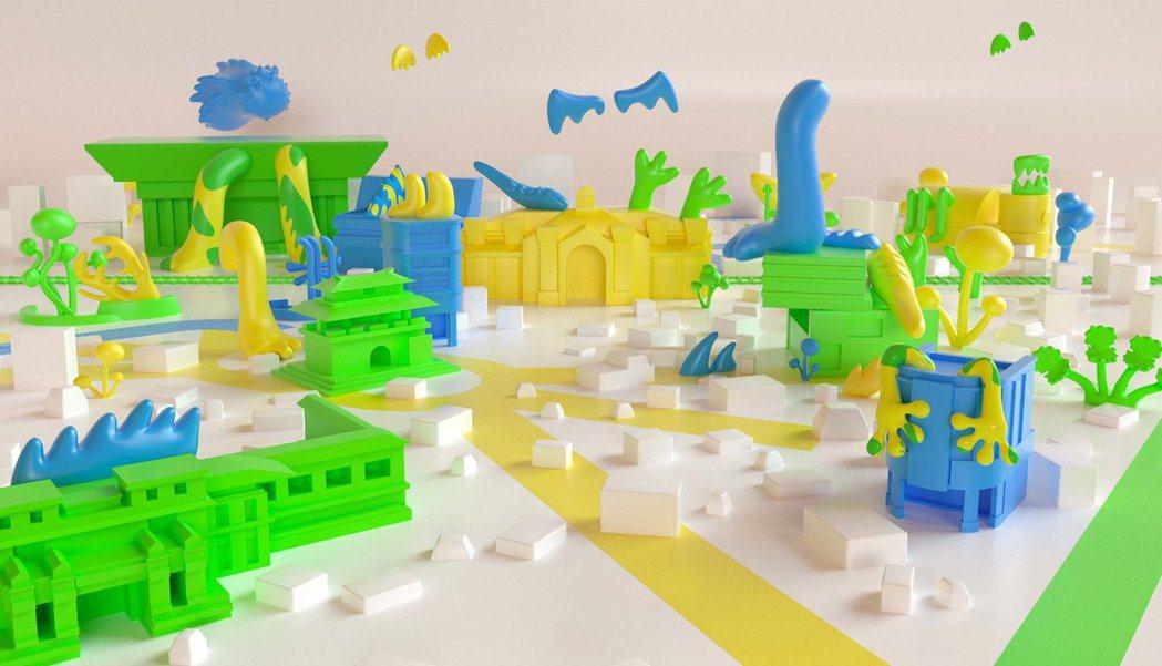 新竹獸是將城市進步的力量透過設計與想像而具現化的一系列作品。 圖/2020台灣設...