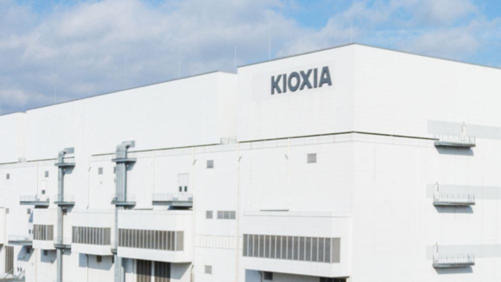 日本半導體廠鎧俠(KIOXIA)。 圖/取自網路