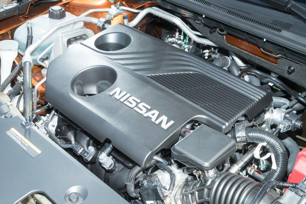 全新搭載1.6G代號為HR16K2的1.6升自然進氣汽油引擎。 記者陳立凱/攝影