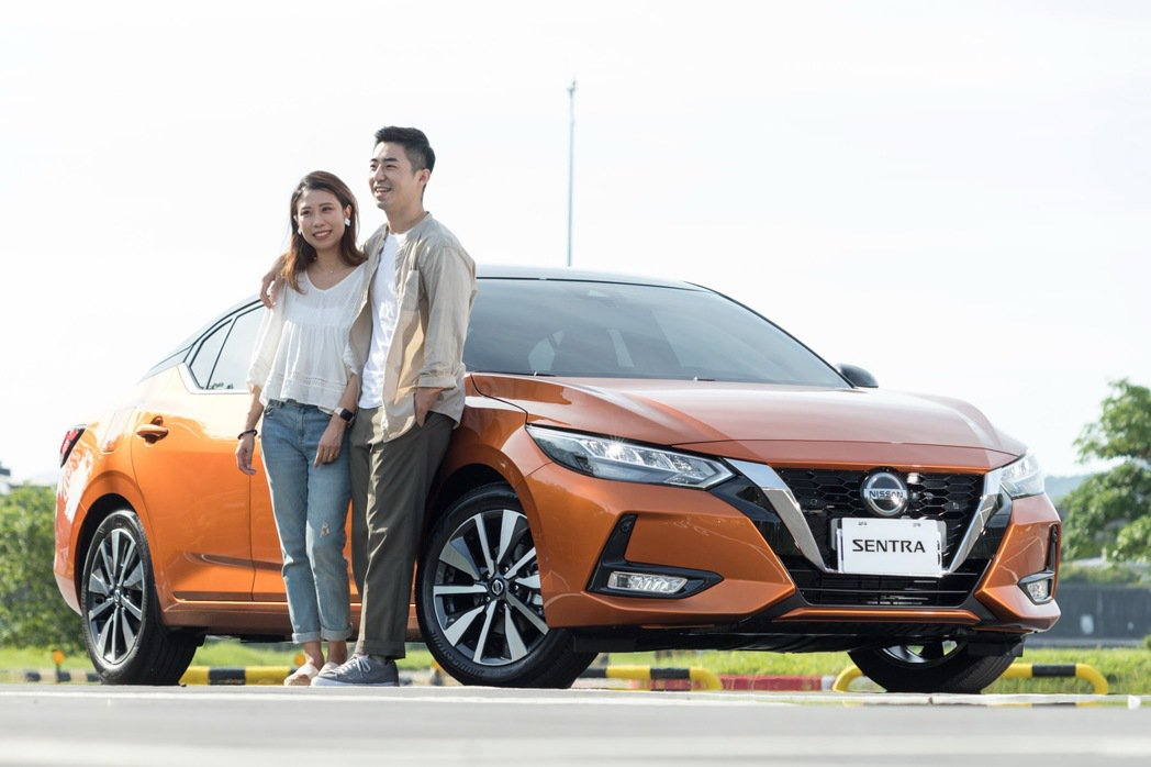 新婚夫妻Ian和Ariel來體驗NISSAN ALL NEW SENTRA。 記...
