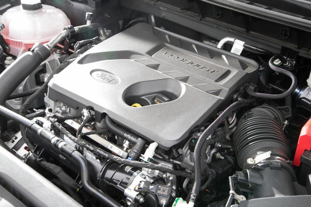 Kuga EcoBoost 180時尚型搭載1.5升渦輪增壓引擎,不僅擁有稅金優...