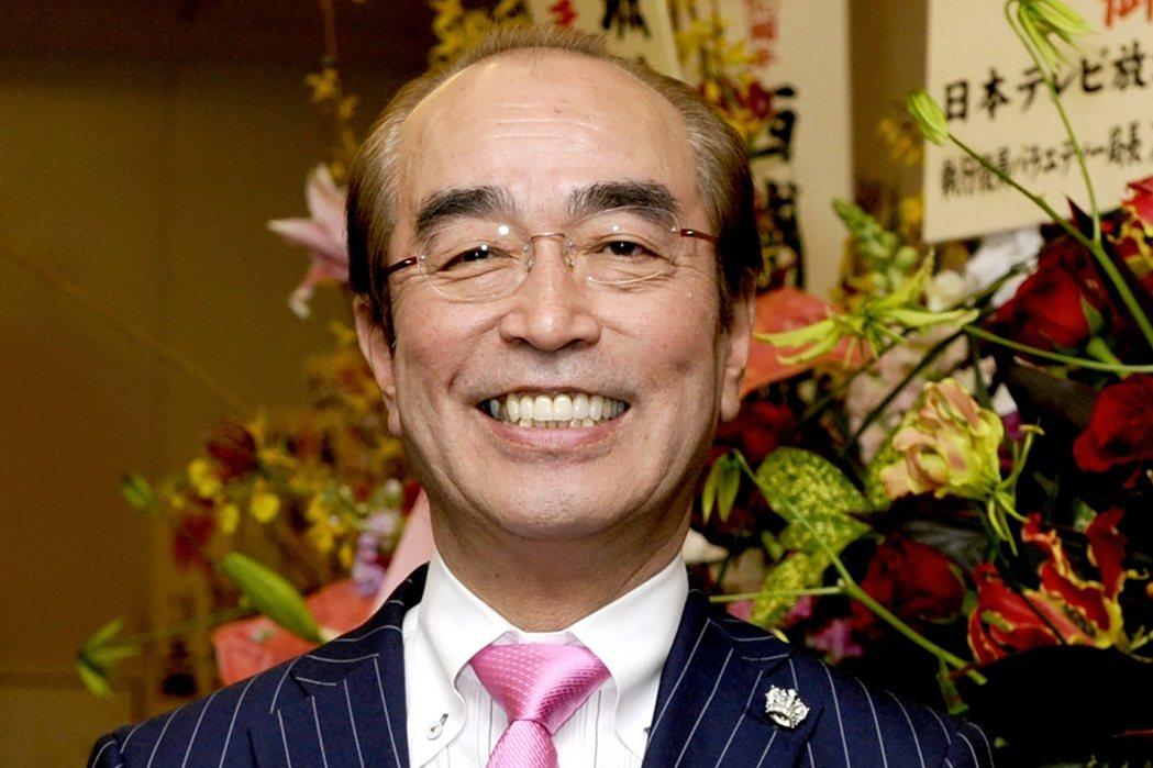 日本「喜劇之王」志村健3月29日因新冠肺炎病逝於東京醫院。 圖/美聯社
