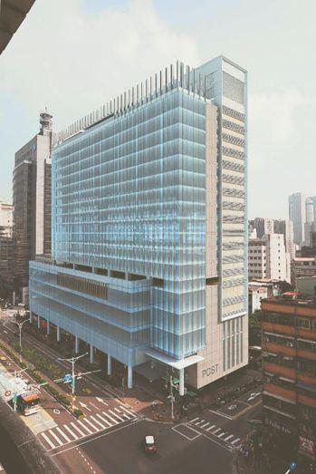 位於台北市的信維郵局將改建。 圖/中華郵政提供