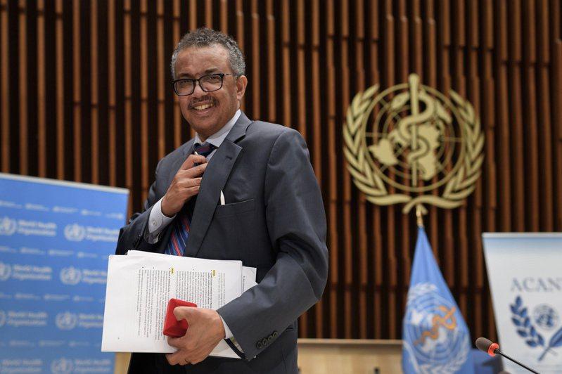世界衛生組織秘書長譚德塞。 歐新社