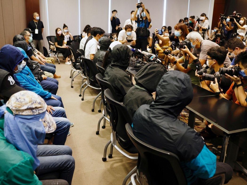 12港人仍在深圳刑事拘留。路透