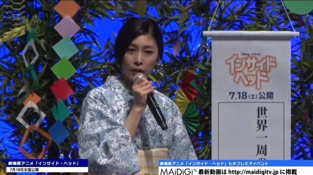 竹內結子分享她的引退心願。圖/摘自maidigitv YouTube