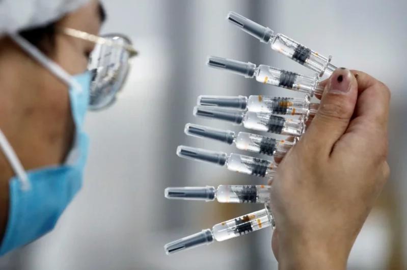 疫苗示意圖。 圖/路透
