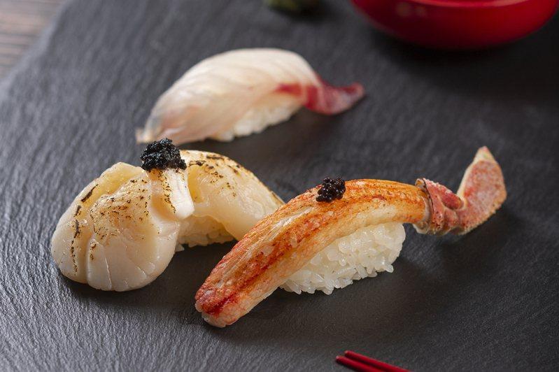 海壽司推出多款秋季旬味壽司,每份40元起。圖/海壽司提供