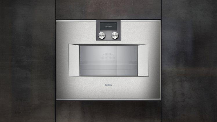 400系列全新改款蒸烤爐,建議售價358,000元。圖/Gaggenau提供