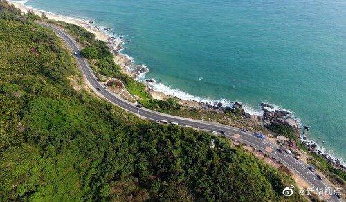 海南將打造環島旅遊公路網。(新華網)