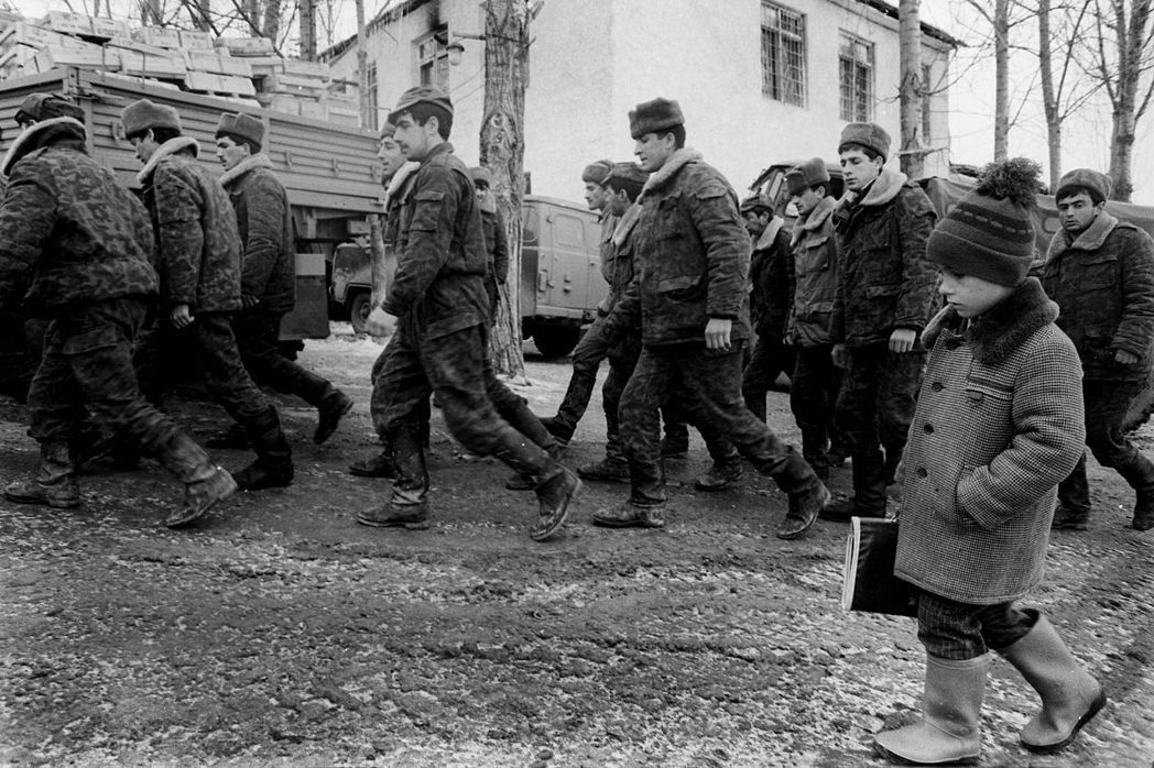 納卡戰爭,亞塞拜然軍隊歷史照片。 圖/維基共享
