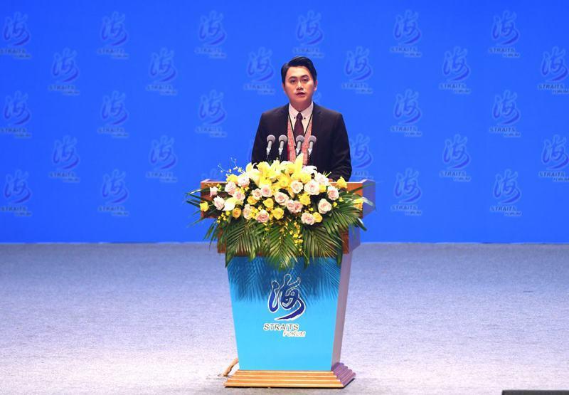 台灣阿美族人楊品驊於海峽論壇中演講時,說出「我是驕傲的中國人」,引發爭議。 中國新聞社