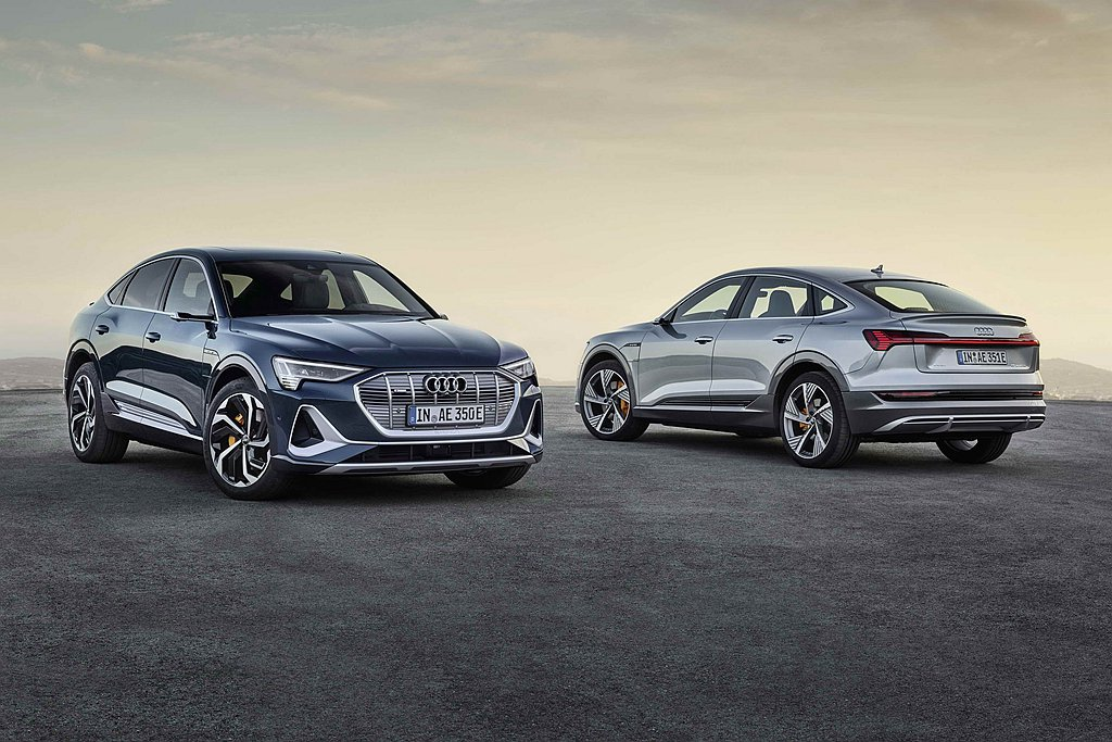 Audi e-tron與e-tron Sportback台灣預售價分別自289萬...