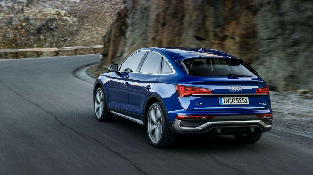 Audi Q5 Sportback。 摘自Audi