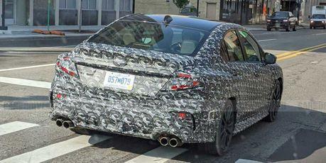 量產時刻近了?新世代Subaru WRX偽裝車美國現身!
