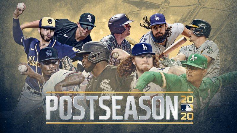 MLB今年將迎來史上最特別、最盛大的季後賽,隊伍數量最多、賽程最密集,專家更預測可能會有更多分數進帳的一年。 截圖自MLB Pipeline推特