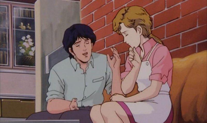 楊威利與菲列特利加 ─《銀河英雄傳說》舊版動畫(1988–1997) 圖:imd...