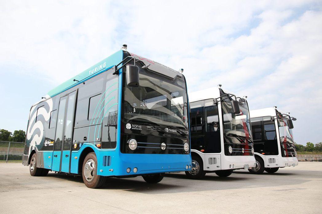 6米自駕巴士。 圖/台灣智駕公司提供