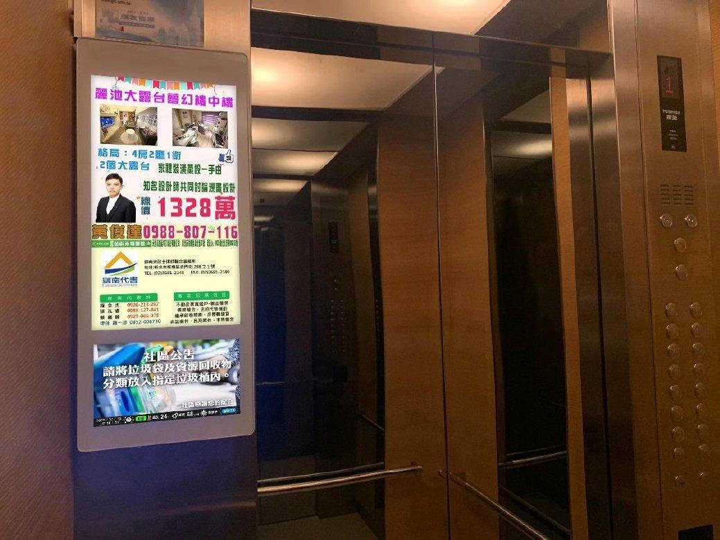 有巢氏房屋業者黃俊達鎖定樹林、板橋地區的社區大樓,將個人連絡方式與房屋買賣訊息上...