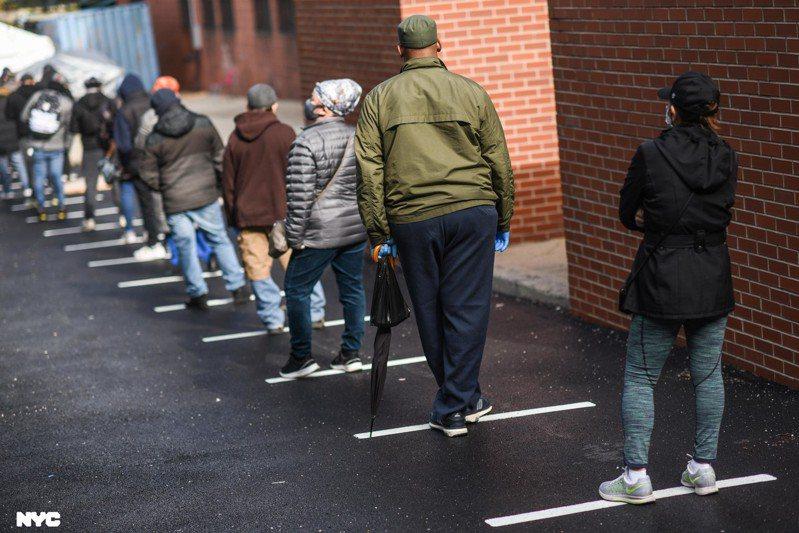 紐約市衛生局數據顯示,布魯克林、皇后區部分社區疫情反彈。 圖/市長辦公室提供