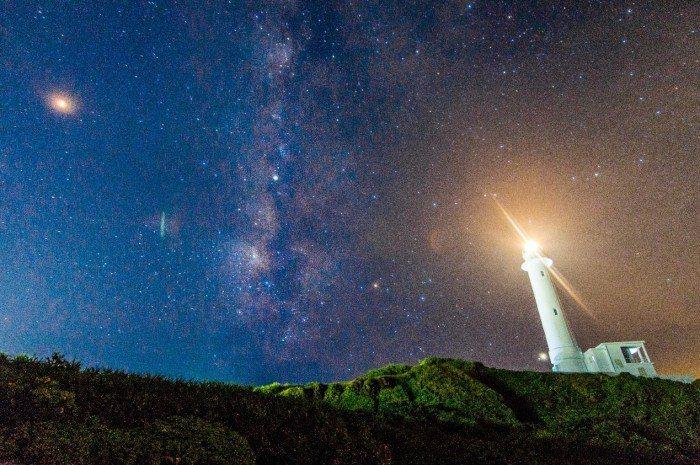 綠島朝日溫泉。 圖/Flickr