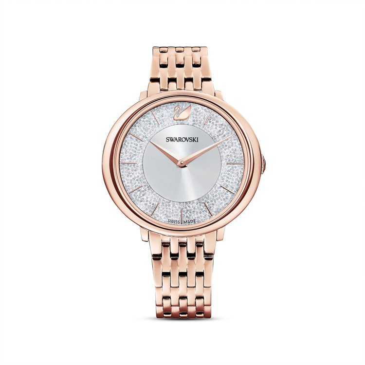 施華洛世奇CRYSTALLINE CHIC腕表,16,900元。圖/施華洛世奇提...