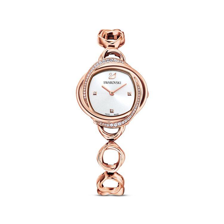 施華洛世奇CRYSTAL FLOWER腕表,16,900元。圖/施華洛世奇提供