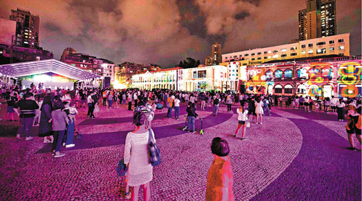 今年十一長假預估接待大陸國內旅遊人數達5.5億人次。(香港文匯網)