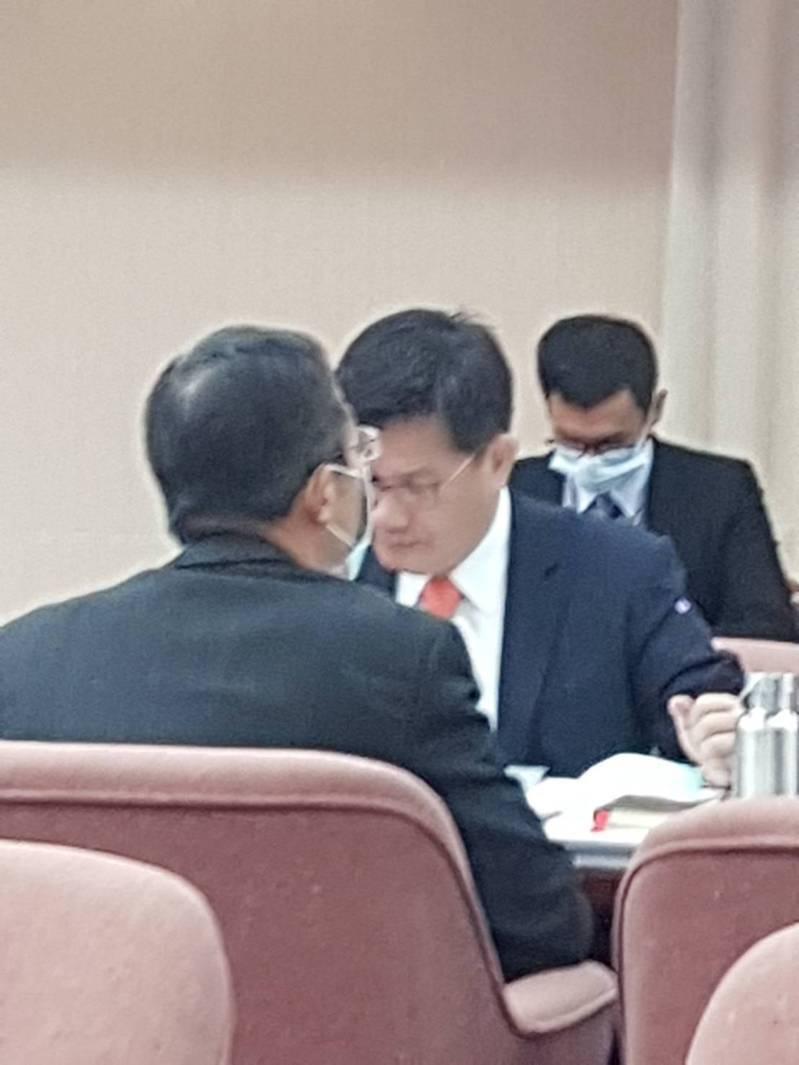 交通部長林佳龍。記者彭宣雅/攝影