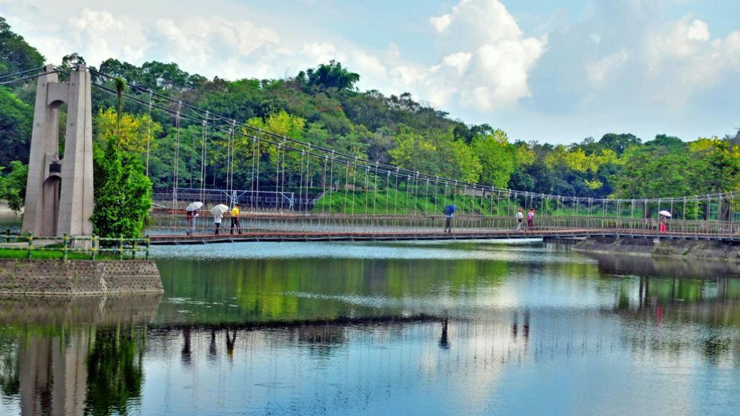 台灣最老水庫台南虎頭埤,中秋連假推優惠與延長開放。圖/虎頭埤風景區提供