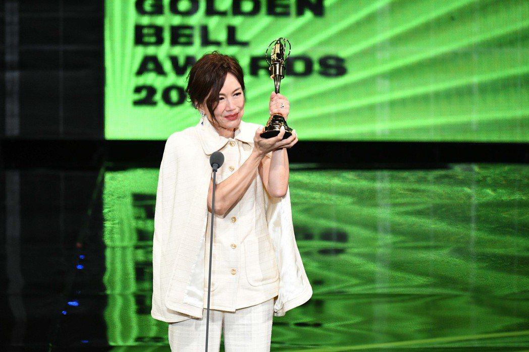 高怡平獲「生活風格節目主持人獎」。圖/三立提供