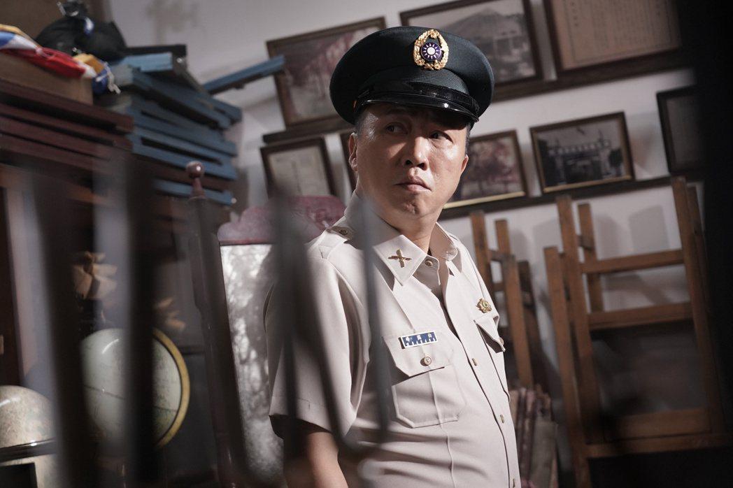 趙正平在「返校」影集中飾演關鍵角色「白國峰教官」。圖/公視提供