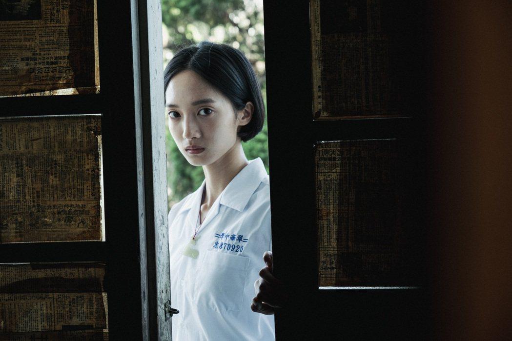 韓寧在「返校」影集中飾演學姊方芮欣。圖/公視提供