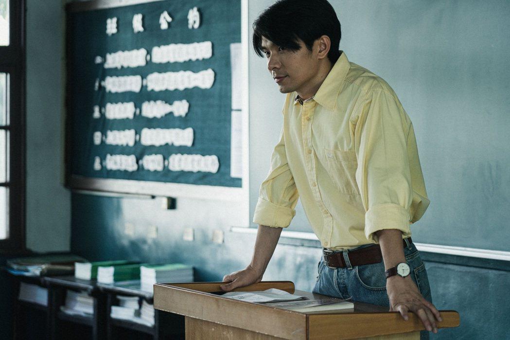 姚淳耀在「返校」影集中飾演全新角色沈華老師。圖/公視提供