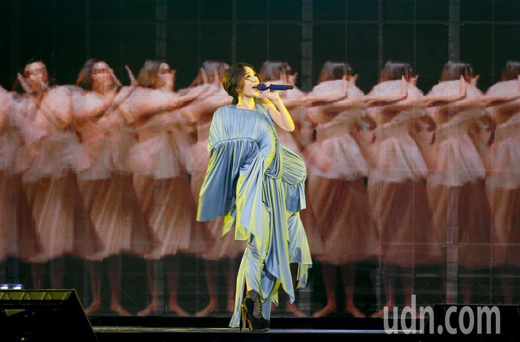 田馥甄「一一世界巡迴演唱會」爆出爭議。圖/報系資料照